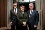 Reception - President Anderson, Elizabeth Hughes, Alan Cramb