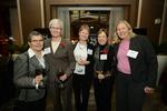 Reception - Guest, Margaret Byrne, Judy Fors, Sue Augustus, Janine Hoft
