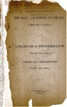 The Kent Law School of Chicago Annual Register, 1892-1893 by IIT Chicago-Kent College of Law