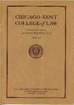 Sixty-Seventh Annual Announcement of the Chicago-Kent College of Law, 1954-1955 by IIT Chicago-Kent College of Law