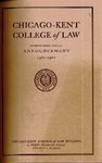 Seventy-Third Annual Announcement of the Chicago-Kent College of Law, 1960-1961