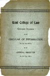 Kent College of Law Annual Register, 1896-1897