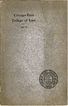 Nineteenth Annual Announcement of the Chicago-Kent College of Law, 1906-1907