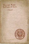 Thirtieth Annual Announcement of the Chicago-Kent College of Law, 1917-1918 by IIT Chicago-Kent College of Law