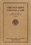 Sixty-Second Annual Announcement of the Chicago-Kent College of Law, 1949-1950