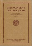 Sixty-Third Annual Announcement of the Chicago-Kent College of Law, 1950-1951