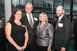 Susan Lewers, President John L. Anderson, Dee Runaas, Nisan Chavkin