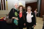 Fay Clayton, Professor Joan Steinman, Guest