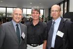 Professor Jerry Goldman, Dawn Rupcich, Jeff Parsons