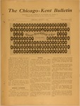 The Chicago-Kent Bulletin - Volume 1, Issue 3