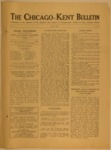 The Chicago-Kent Bulletin - Volume 1, Issue 11