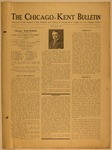 The Chicago-Kent Bulletin - Volume 2, Issue 2