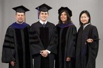 Pre-Ceremony - Dean Krent, David Franklin, Anita Alvarez, Jiaolu Zhou