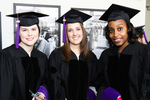 Pre-Ceremony - Three Graduates by IIT Chicago-Kent College of Law Alumni Association