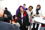 Reception - Graduate with Hood