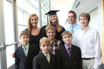 Pre-Ceremony - Graduate with Family