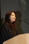 Ceremony - LL.M. Class Speaker Jingjing Huang