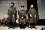 Ceremony - Abdulaziz Alqahtani, Emmanuel Castillo, Djilali Chadli by IIT Chicago-Kent College of Law Alumni Association