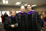 Pre-Ceremony - Professor Brill, Thomas Flanagan, John Flanagan