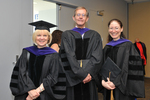 Pre-Ceremony - Professor Andrews, Professor Gonzalez, Professor Marder