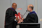Pre-Ceremony - Kwame Raoul and Dean Krent