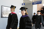 Pre-Ceremony - Professor Lee and Professor Marder