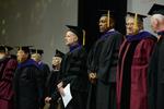 Ceremony - Professor Brill, Professor Adams, Dean Krent, Kwame Raoul, Professor Eglit