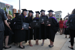 Reception - Graduates With Diplomas