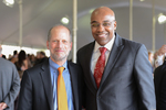 Reception - Dean Krent and Kwame Raoul