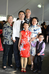 Reception - Yu Di and Family