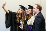 Pre-Ceremony - Graduates Take a Selfie