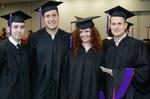 Pre-Ceremony - Group of Graduates