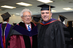 Pre-Ceremony - Professor Eglit and Jorge Ramirez