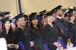 Ceremony - Graduates Standing by IIT Chicago-Kent College of Law Alumni Association