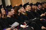 Ceremony - Graduates Seated by IIT Chicago-Kent College of Law Alumni Association