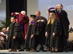 Ceremony - Graduates Receive Hoods
