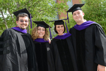 Reception - Four Graduates