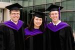 Reception - Three Graduates