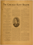 The Chicago-Kent Bulletin, Vol. 1, Issue 9, 1917