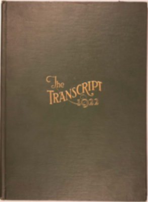 The Transcript, 1922