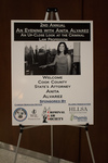 Second Annual Evening with Anita Alvarez: An Up-Close Look at the Criminal Law Profession - Sign