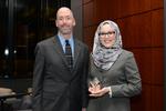 Ilana Diamond Rovner Appellate Advocacy Awards - Caitlyn Ajax, Professor Streseman