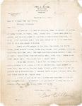 Letter to Dean Webster H. Burke from Geo. E. Allen, 1914 by Geo. E. Allen