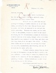 Letter to Secretary Guy Guernsey from Nettie Rothblum, 1913