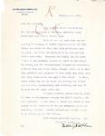 Letter to Secretary Guy Guernsey from Nettie Rothblum, 1913 by Nettie Rothblum