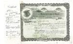 Kent College of Law Stock Certificate #11 - Marshall D. Ewell