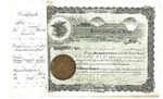 Kent College of Law Stock Certificate #6 - Grant Newell