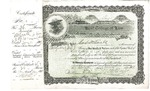 Kent College of Law Stock Certificate #9 - Marshall D. Ewell