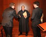 Justice Scalia, Richard Gutierrez, David Jorgensen